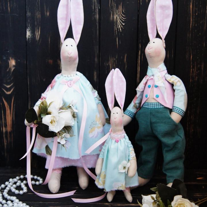 Семья кроликов Тильда