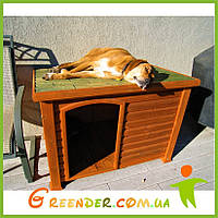 Деревянная будка для собаки «Тераса»