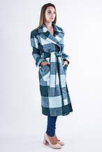 Пальто женское 104R008 Зеленый