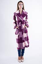 Пальто женское 104R008 Бордо