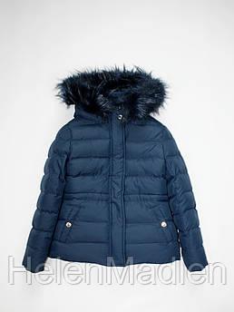 Куртка Mixture детская темно-синяя Италия 7-9 лет