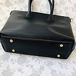 Женская сумка c косметичкой черная  (1006), фото 8