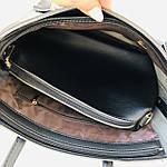 Женская сумка c косметичкой черная  (1006), фото 9