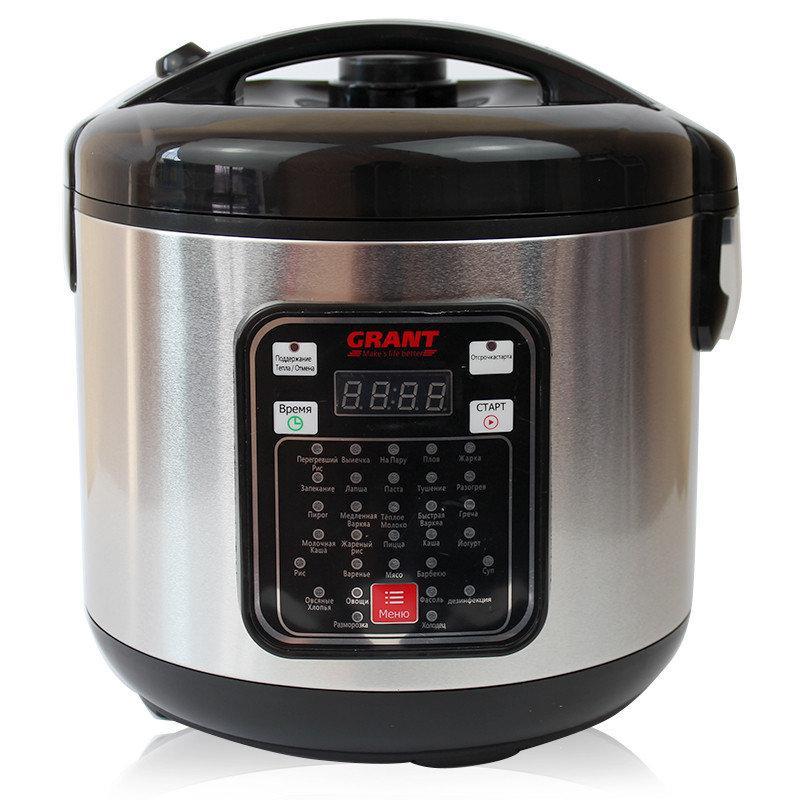 Мультиварка GRANT CN 1306A 5 л | пароварка (32 программ) | скороварка | рисоварка