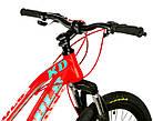 Велосипед спортивный Impuls 24 ARROW КРАСНЫЙ, фото 3