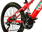Велосипед спортивный Impuls 24 ARROW КРАСНЫЙ, фото 4