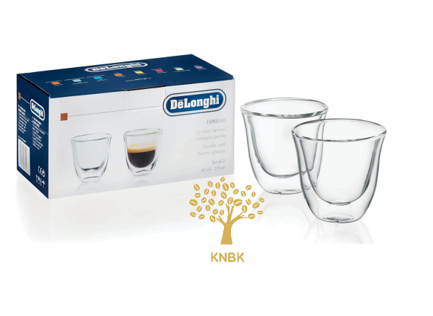 Термостакан для кофе DeLonghi Espresso 60 мл. (упаковка 6 шт.)