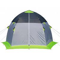 Зимняя зеленая палатка Лотос «LOTOS 3» Эко Стеклокомпозитный Каркас, фото 1