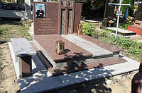 Гранітний пам'ятник подвійний Е1910