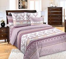 Лапландия фиолетовая, постельное белье из перкаля (100% хлопок)
