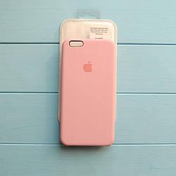 Накладка оригинальная Apple Silicone Case для iPhone 6 Plus, 6S Plus Rose pink