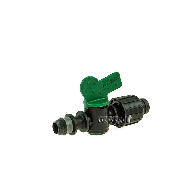 Кран Irritec (Италия) для капельной ленты с впаянной резинкой