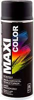 Эмаль-аэрозольтермостойкая Макси Колор, черная(Maxi Color) 400 мл