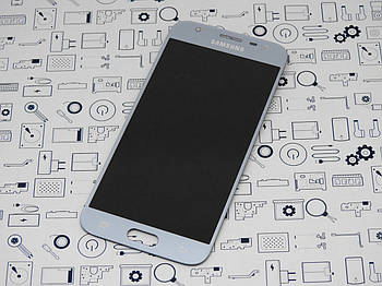 Дисплей Samsung J330F Galaxy J3 2017 (S.AMOLED) модуль серый Сервисный оригинал с разборки