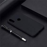 Чехол Soft Touch для Honor 8A силикон бампер черный