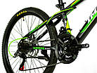 Велосипед спортивный Impuls 24 CACTUS салатовый, фото 3