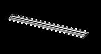 Профиль направляющий для монорельсовых откатных ворот (круглый).