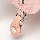Рюкзак портфель женский розовый., фото 3