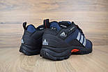 Зимние мужские кроссовки Adidas Climaproof низкие синие 41-46рр. Живое фото. Реплика, фото 4