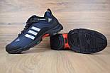 Зимние мужские кроссовки Adidas Climaproof низкие синие 41-46рр. Живое фото. Реплика, фото 5