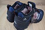 Зимние мужские кроссовки Adidas Climaproof низкие синие 41-46рр. Живое фото. Реплика, фото 2