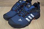 Зимние мужские кроссовки Adidas Climaproof низкие синие 41-46рр. Живое фото. Реплика, фото 6