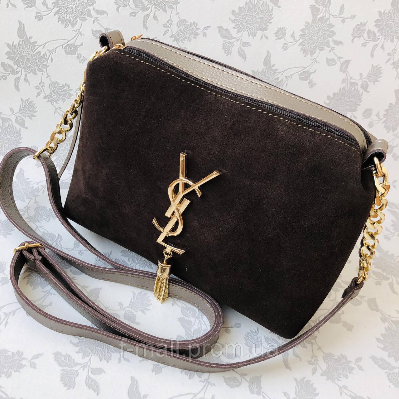 Женская сумка замшевая   (1510/1)
