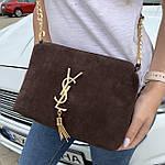Женская сумка замшевая   (1510/1), фото 2
