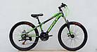 Велосипед спортивный IMPULS 24 PLASMA чёрно-синяя, фото 2