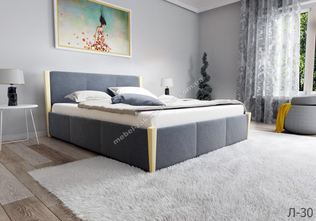 Кровать деревянная с подъёмным механизмом Л-30