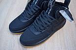 Мужские теплые кроссовки Nike Lunar Force 1 Duckboot black без меха 41-45рр. Живое фото(Реплика ААА+), фото 5