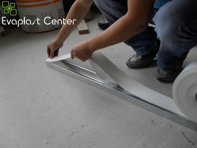 Уплотнительная тепло-шумоизоляционная лента для гипсокартона