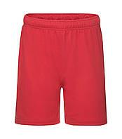 Детские спортивные шорты красные 007-40