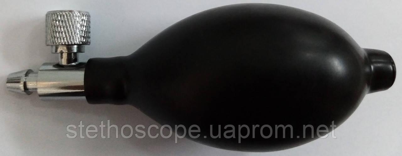 Груша с металлическим винтом, с впускным пластик. клапаном (Комфорт)
