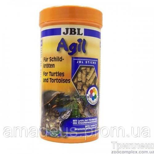 Jbl Agil Основной Корм В Форме Палочек Для Водных Черепах Размером 10–50 См, 250 Мл