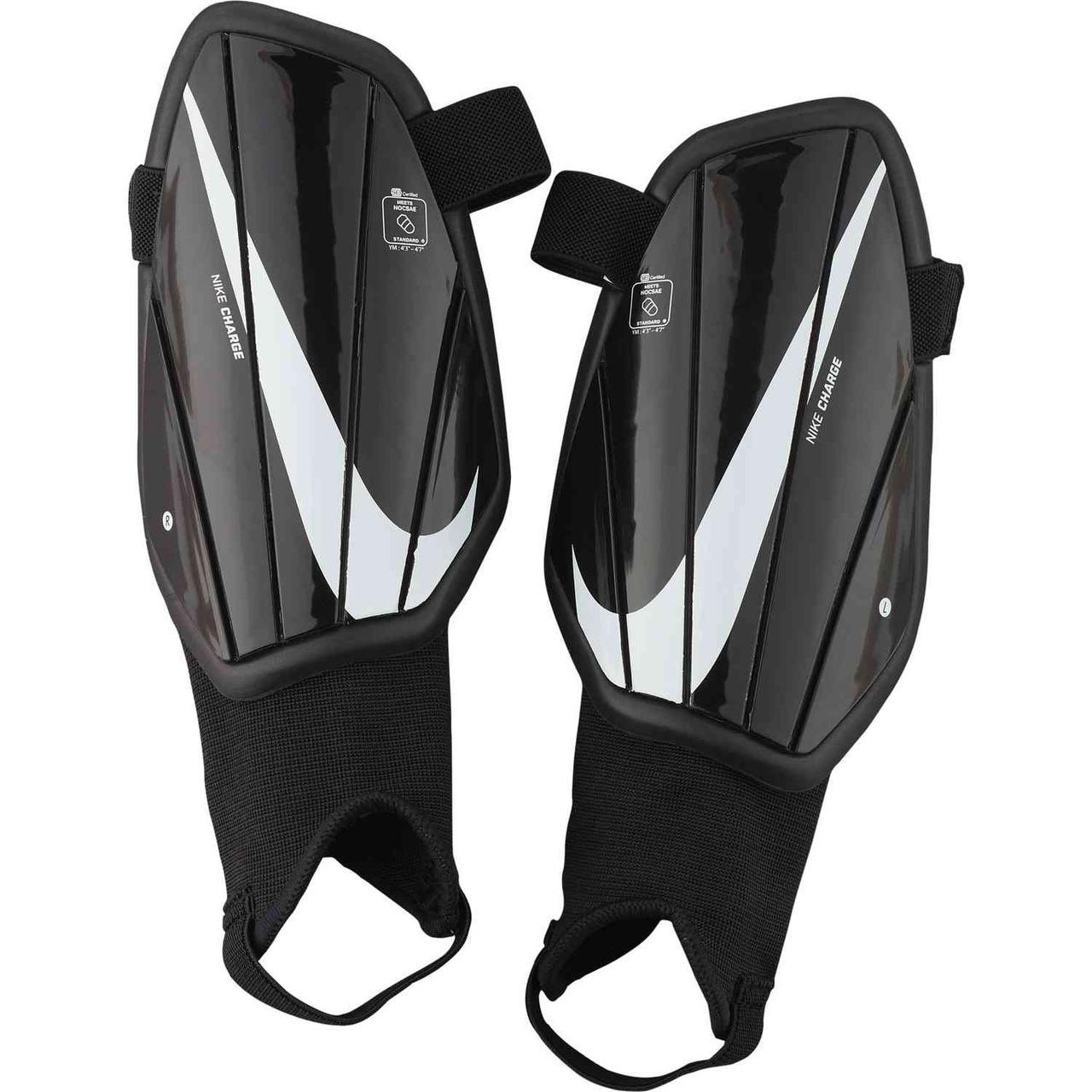 Щитки футбольные детские Nike Charge SP2165-010 Черный S