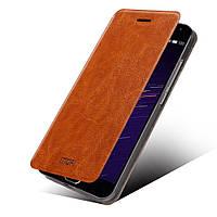 Чехол книжка MOFI Rui Series для Meizu MX5 коричневый