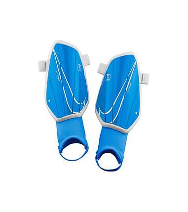 Щитки футбольные детские Nike Charge SP2165-430 Синий S, фото 2