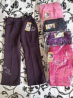Спортивні штани з начосом для дівчаток QWear 86-122 р. р.