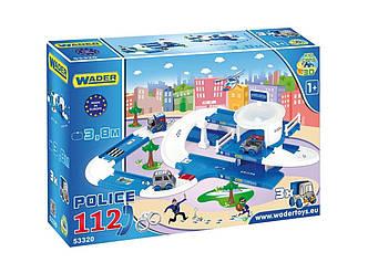 Детский игровой набор Полиция Kid Cars 3D Wader 3,8 м