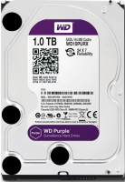 "Жесткий диск / Western Digital / WD10PURX-FR / AV / 3.5"" / WD Purple / 1TB / IntelliPower / SATA 6Gb/s / 64MB / заводское восстановление"