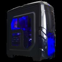 ПК ЕТЕ HB-R1600SU-810.12SDD.GTX1060-6.Q2500-SP/AMD Ryzen 5 1600/SU-210/A320M/16GB DDR4/SSD 240GB/HDD 1TB/GeForce GTX1060 6GB/Inter-tech Q2