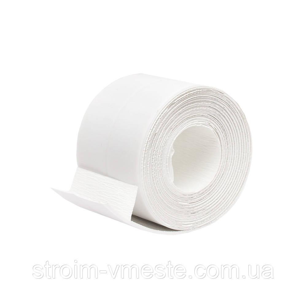 Бордюрная лента для ванн MASTER 62 мм х 3 м белая