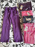 Спортивні штани з начосом для дівчаток QWear 128-164 р. р.