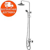Душевая система для ванны с изливом Imprese Jesenik T-10140 хром