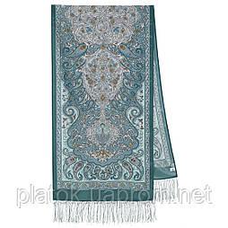Розповідь про мандри 1633-61, павлопосадский шовковий шарф крепдешиновый з шовковою бахромою