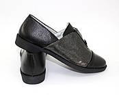 Классические чёрные туфли для девочки