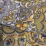 Рассказ о странствиях 1633-60, павлопосадский шарф шелковый крепдешиновый с шелковой бахромой, фото 6