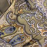 Рассказ о странствиях 1633-60, павлопосадский шарф шелковый крепдешиновый с шелковой бахромой, фото 10