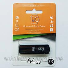 Флешка USB 3.0, T&G 011 Classic Series 64GB, черная